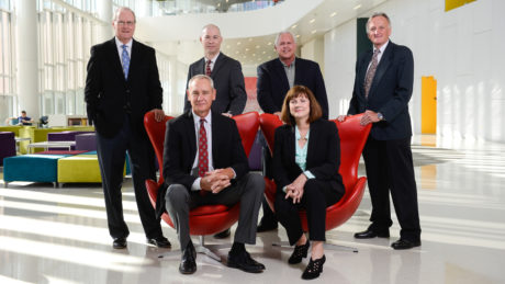 SCRC executive advisors in Hunt Library