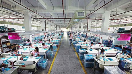garment factory in India